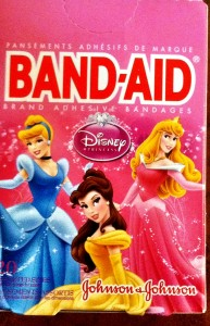 disney princess band aids photo