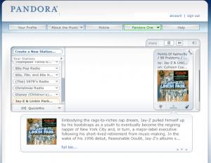pandora one photo