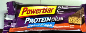 power bar protein plus reduced sugar