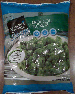 seasons choice broccoli florets