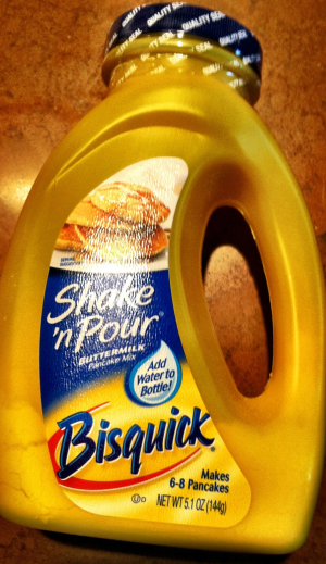 Bisquick Shake N Pour Review Photo