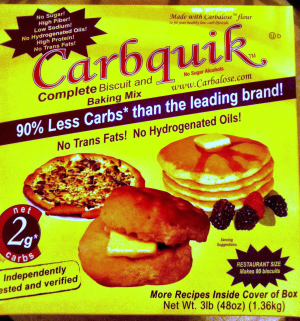 Carbquik Review - Low Carb Baking Mix Photo