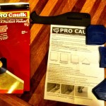 Review of DAP Pro Caulk Photo