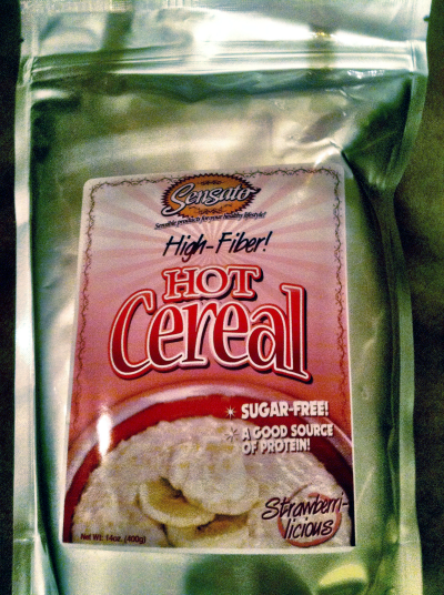 Sensato High Fiber Hot Cereal Review Photo